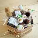Подарочная коробка с кофе и шоколадом «Для сильного духом»