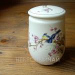 Чайница Цветы и Птицы
