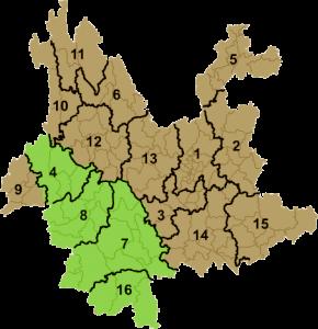 Провинция Юньнань и регионы наиболее качественного Пуэра
